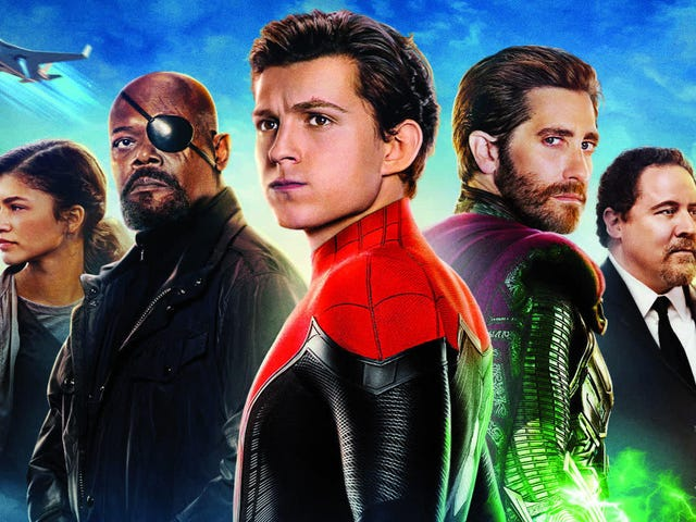 The Spider-Man: Far From Home Blu-ray Feels Like a Scene Post Post 90-Minute