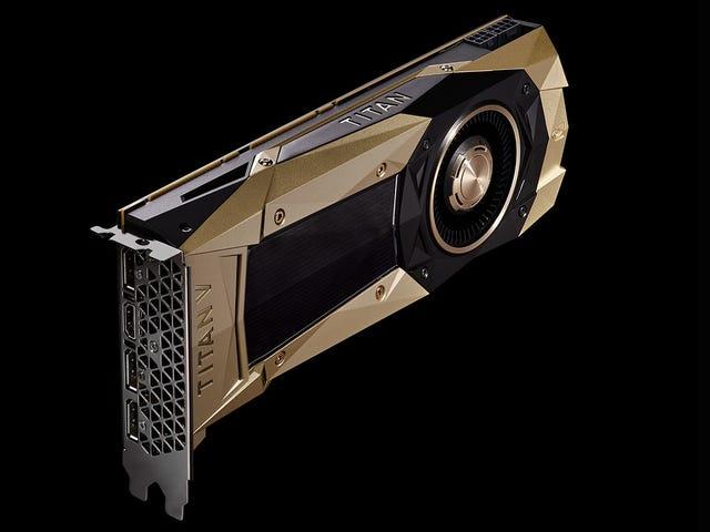Questa GPU da 3.000 $ è la più potente di sempre, e per dimostrarla, Nvidia l'ha dipinta d'oro
