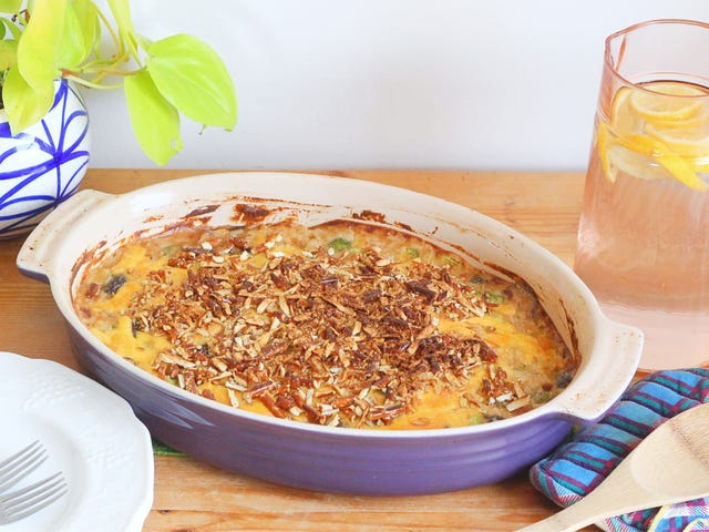 The Broccoli Beer Cheese Casserole Is the Upgrade Your Potluck Needs