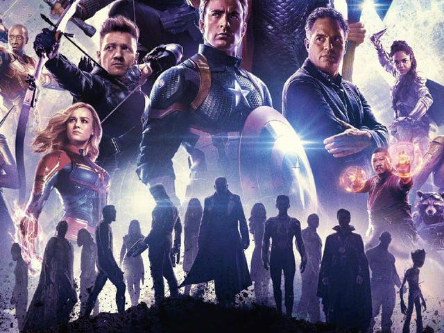 Los muertos se levantan en este impresionante nuevo kartel de Avengers: Engame