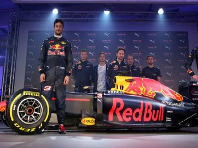 Red Bull's Boring New Formula One Look Falls As Flat As Its Finish