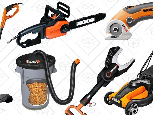 Take An Extra 20% Off Pretty Much Everything Worx Makes