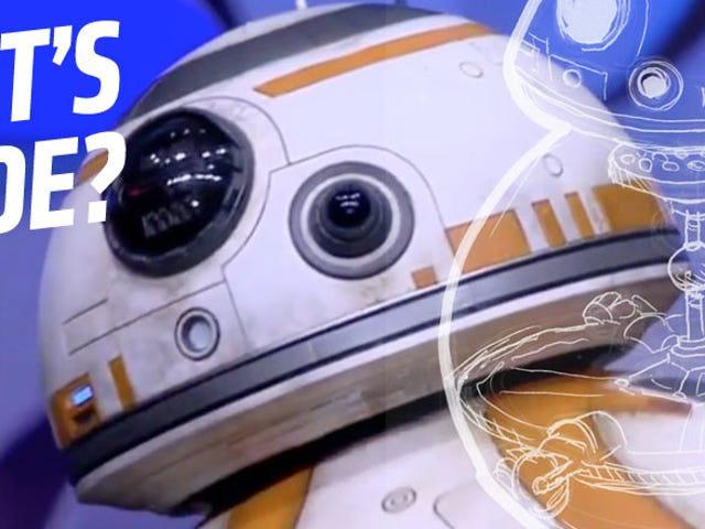 The New Star Wars Droid Is Not CGI — So How Does It Work?