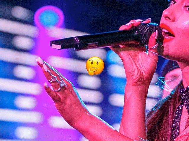 Est-ce la bague de fiançailles de cette Ariana Grande ou est-ce toute cette histoire?