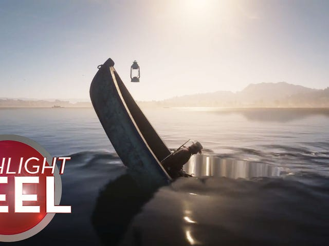 Red Dead Player Can Row A Damn Boat
