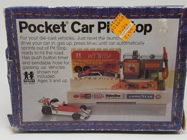 Sorpresa sabato - Pocket Car Pit Stop