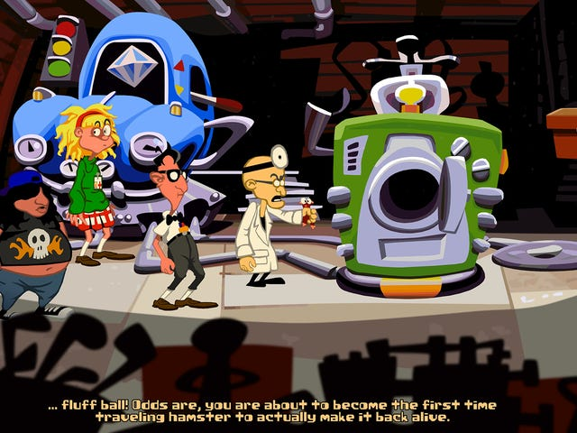 Play the Free Fan-Made Sequel to the Adventure Game 'Day of the Tentacle'