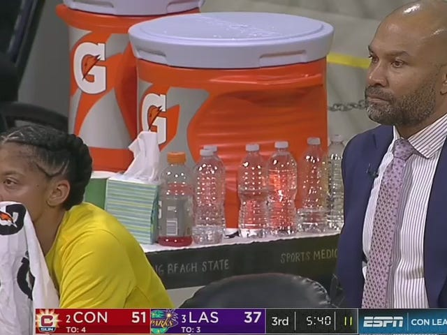 Candace Parker Was Peeved After Derek Fisher Benched Her In An Elimination Game