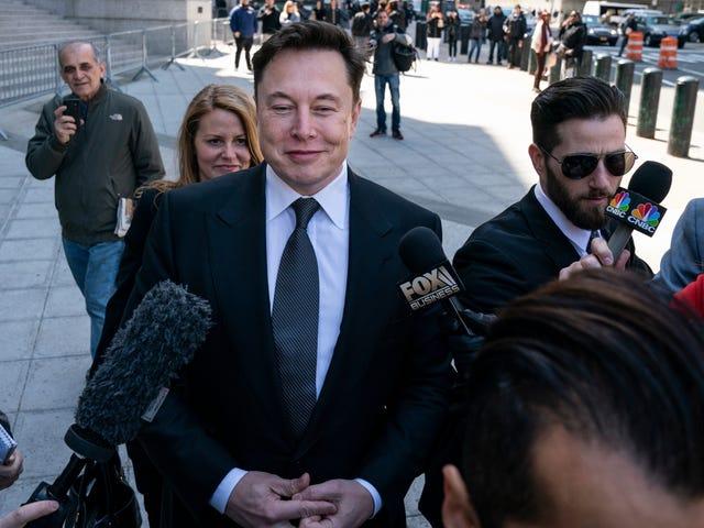 Elon Musk lever til en anden dag