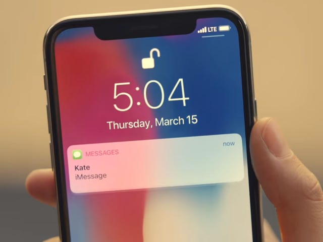 Apple Erases Tiny Bug From iPhone X Ad, Hasn't Yet Fixed Actual Bug