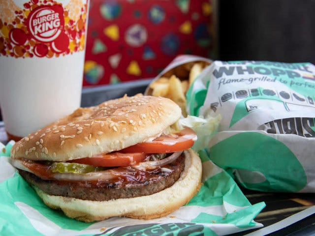 Vegan customer sues Burger King for grilling Impossible Whoppers on same surface as beef