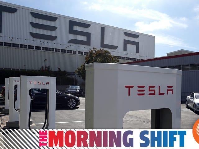 Tesla Furloughs Todos los empleados 'no esenciales' debido a COVID-19