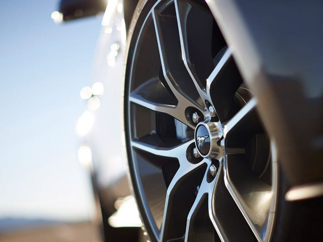 The 2015 Ford Mustang GT gets line lock as standard equipment
