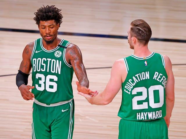 Los Celtics solo necesitaban un buen grito