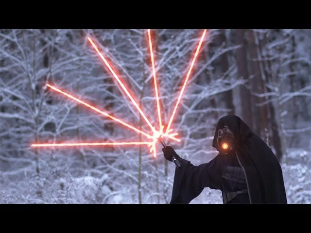 New Lightsaber Design Leads To Battle Of Increasing Ridiculousness