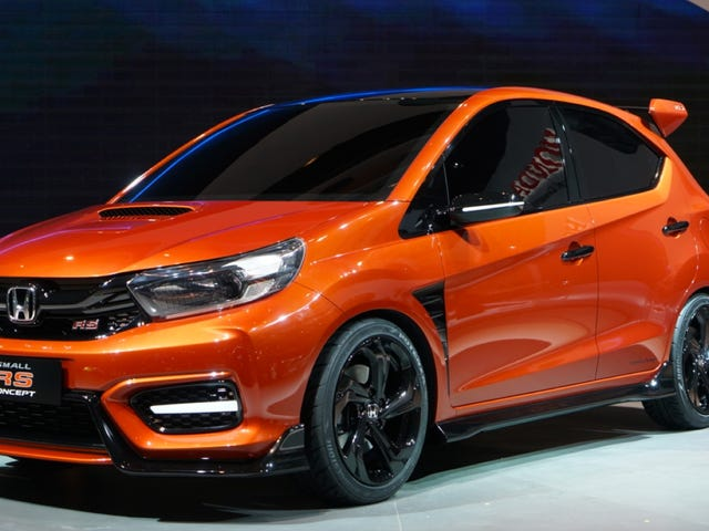 The Honda Small RS Concept Is The Tiny Type R We Deserve