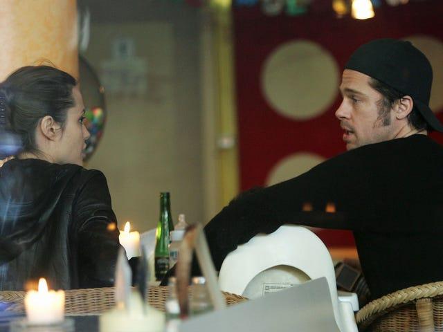"""Brad Pitt supostamente acha que Angelina Jolie é """"nojenta"""" por ter iniciado uma batalha pública de divórcio"""