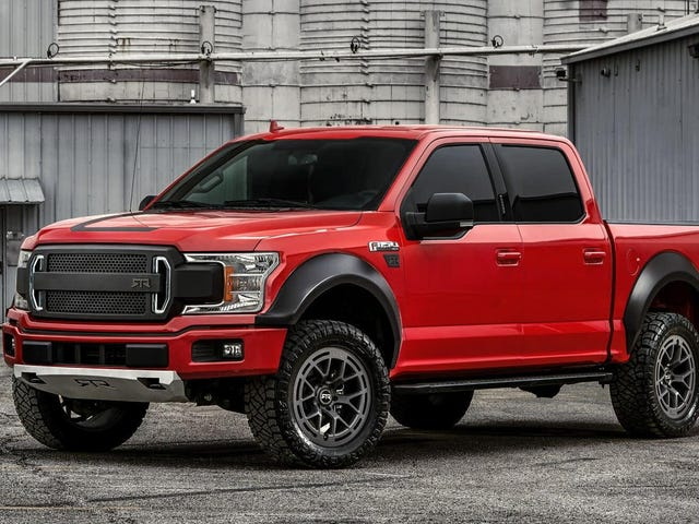 The 2019 Ford F-150 RTR Adalah Big Bouncing Off-Roading Beef-Boy Buddy