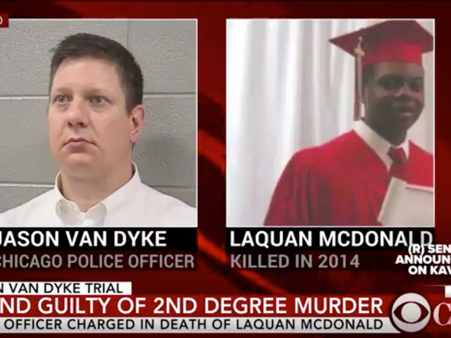 Cop Who Shot Black Teen 16 Times Found Guilty of Second Degree Murder