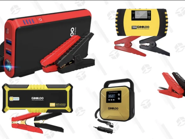 Always Be Prepared For Car Trouble With These Gooloo Deals