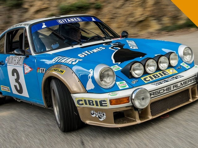 911 SC - Monte Carlo Rally Stage