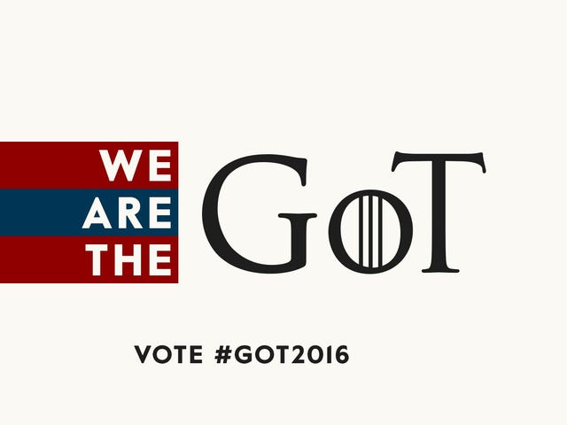 Stanco delle elezioni presidenziali?  Segui invece l'elezione Westeros!