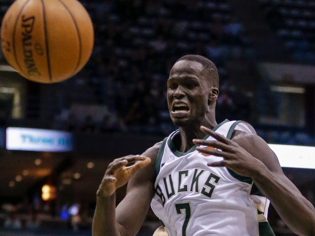 A Video Of Kevin Garnett Yelling A Bunch Got Thon Maker Inspired To Start Kicking Ass In The Playoffs