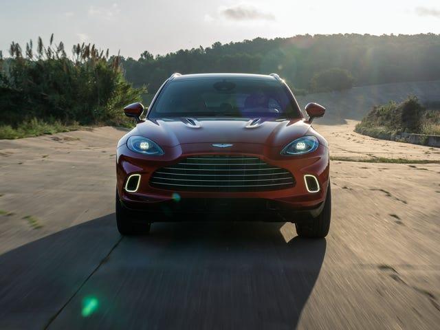 Aston Martin føles ikke så bra, kan få lettelse fra Geely