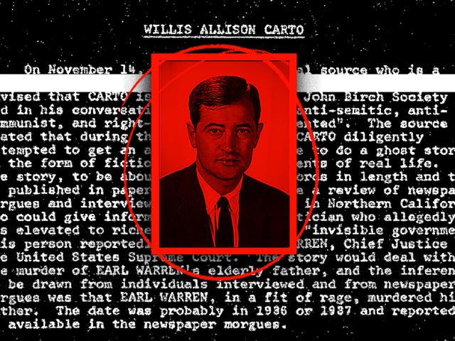 FBI công bố tập tin về Willis Carto, Neo-Nazi mới được chôn tại Arlington