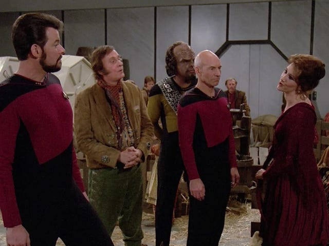 Star Trek: Yeni Nesil Kötü Olduğunda, Gerçekten Korkunçtu