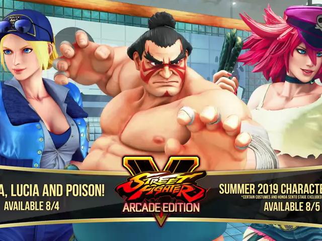 E. Honda, Poison, dan Final Fight Lucia Akan Datang Ke Street Fighter V