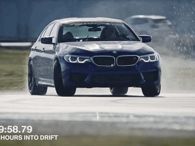 AWD And Bluetooth Issues Almost Ruined BMW's Eight-Hour Drifting World Record