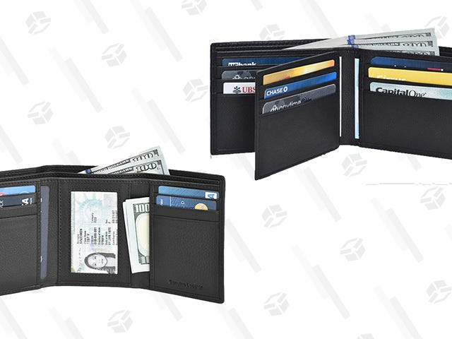 """<a href=""""https://kinjadeals.theinventory.com/this-leather-wallet-gold-box-wont-clean-out-your-existi-1833857467"""" data-id="""""""" onClick=""""window.ga('send', 'event', 'Permalink page click', 'Permalink page click - post header', 'standard');"""">This Leather Wallet Gold Box Won&#39;t Clean Out Your Existing Wallet</a>"""