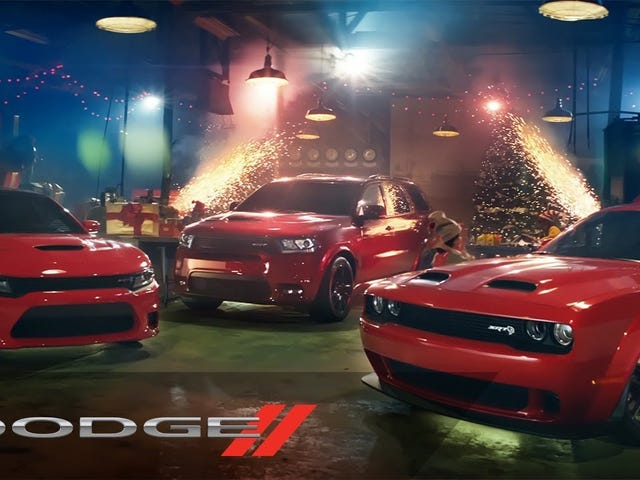 Uh, Dodge? I have some news about your new Muscle Santa