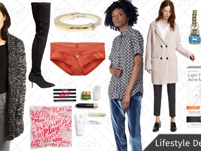Tuesday's Best Lifestyle Deals: Levi's, Wildfang, Aerie, Sephora PLAY! Beauty Boxes, and More