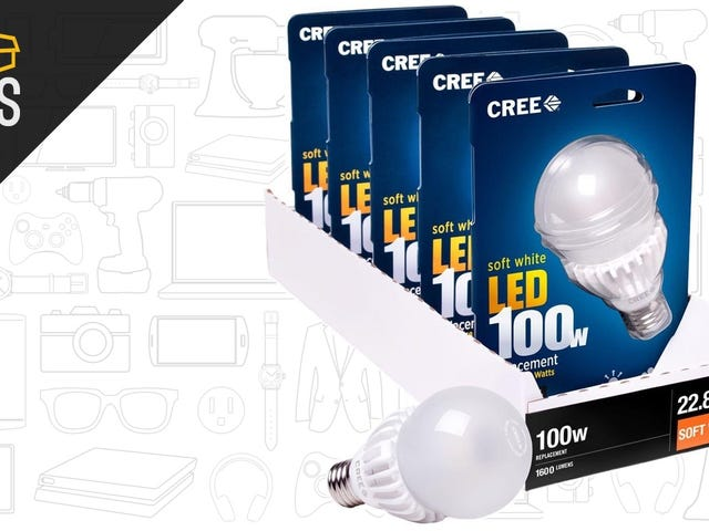 Save Big on Cree LED Bulbs, Then Save More On Your Power Bill