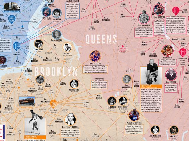 Habiskan Kekacauan Utuh Dengan Peta Besar NYC Basketball ini