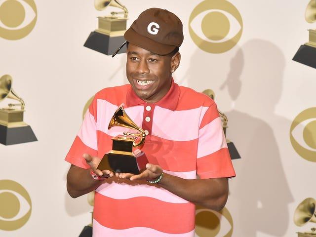 "Tyler The Creator calls Igor's Best Rap Album win a ""backhanded compliment"""