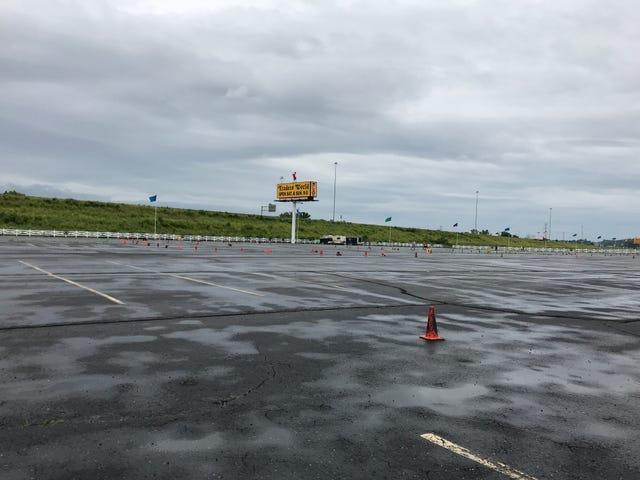Wet Autocross Yesterday