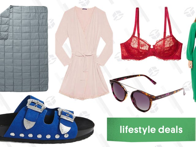 Wednesday's Best Lifestyle Deals: Privé Revaux, Weighted Blanket, Journelle, and More