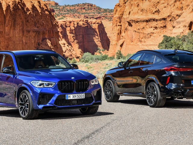 The 2020 BMW X5 M And X6 M Are Here To Meet The Staggering Demand For 617 HP Crossovers