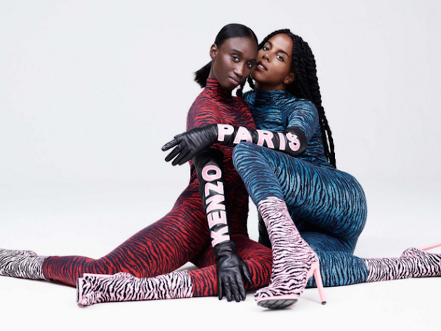 Kenzo's H&M Collaboration Is Tiger-Lady Chic