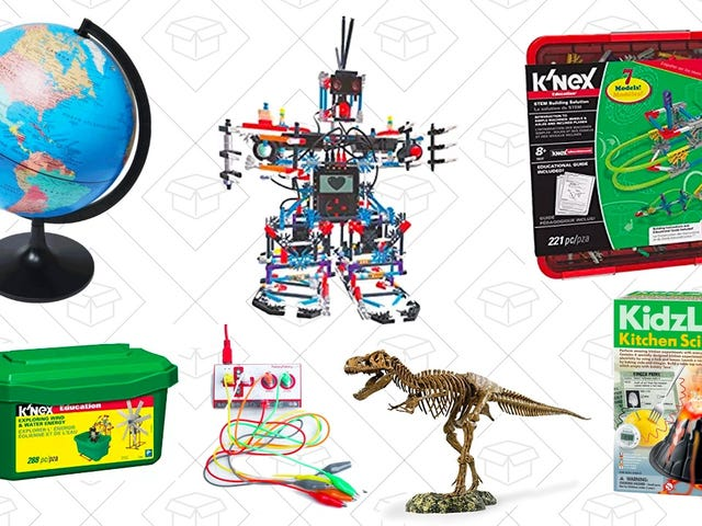 Pick Up Discounted K'NEX and Other STEM Toys, Today Only