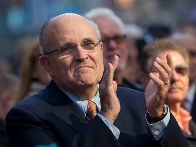 Hey Rudy Giuliani, hvor var sæden?