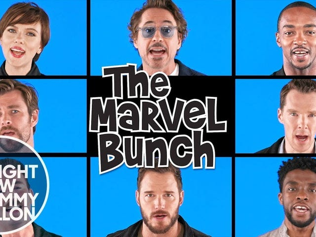 For all you Marvel aficionados