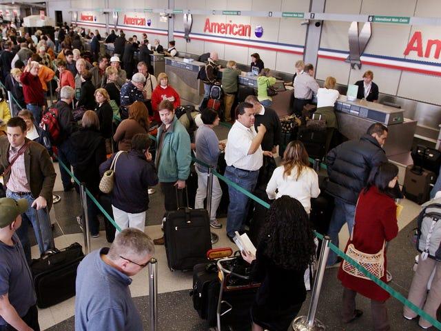 Ative as notificações por push da sua companhia aérea