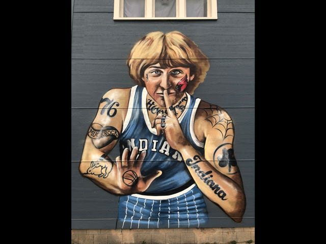 Larry Bird Complains After Artist's Mural Makes Him Seem Too Interesting