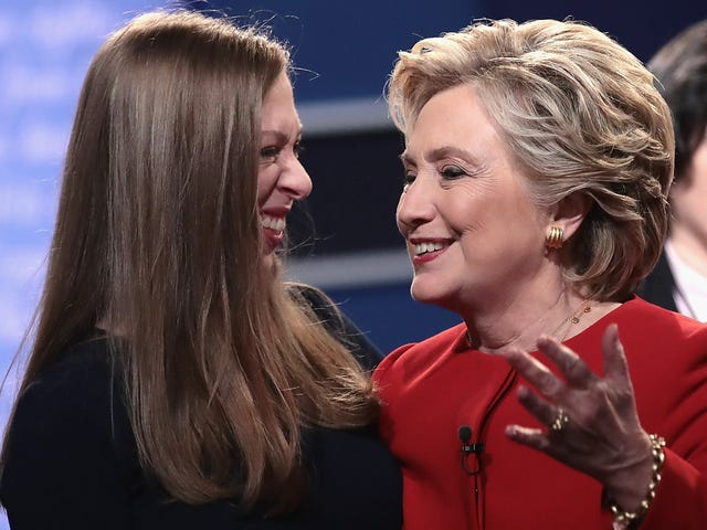 Hillary et Chelsea vont à Hollywood