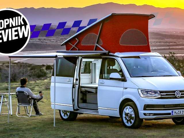 The 2018 VW T6 California Van Is The Best Car That's Also A House