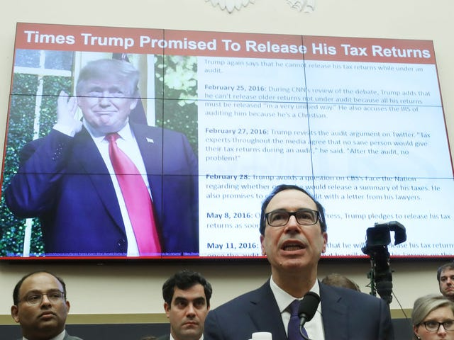 House Dems File Lawsuit to See How Much Trump Cheated on His Taxes
